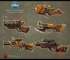 vote for your favorite rifle to appear in dota 2