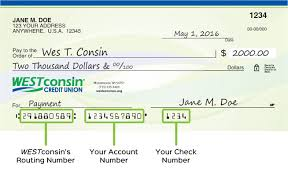 Info Credit Union Westconsin Transit Routing Number amp;