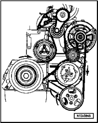 2004 touareg you scan me the diagram for the serpentine belt v6 graphic