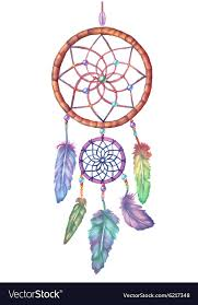 Water Color Dream Catcher