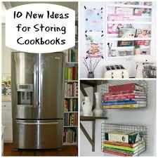 Image Fridge Picmonkeycollage The Organized Mom 10 New Ideas For Storing Cookbooks The Organized Mom