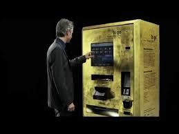 Gold Bullion Vending Machine Stunning GOLD To Go Vending Machine YouTube