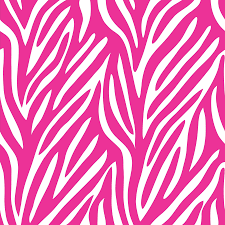 Pink Zebra Print Wallpaper