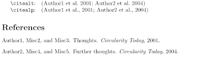 Citing Cite Two Papers In Parentheses Tex Latex Stack Exchange