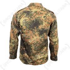 German Army Jacket Size Chart German Army Flecktarn Shirt