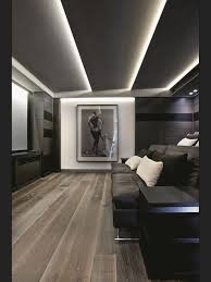 Led Lights For Theater Room Modern Bertie Room Ceiling Wih Led Strip Lights Home