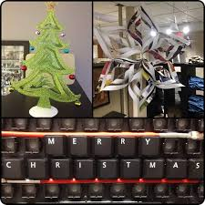 office christmas decorations ideas brilliant handmade workstations. Office Christmas Decor. Artistic Diy Ideas For A Beautiful Decor E Decorations Brilliant Handmade Workstations