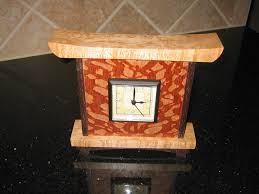 wood clock plans desk clock by spuds lumberjocks com woodworking community