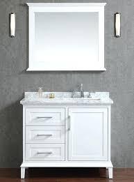 White Vanities For Bathrooms
