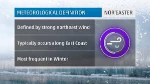 how does a nor easter form what is a noreaster the weather channel