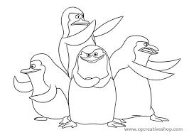 I Pinguini Di Madagascar Disegno Da Colorare