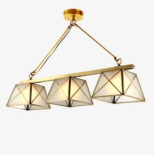 beautiful atmospheric restaurant chandelier lamp lamps lighting copper bar american continental all bronze