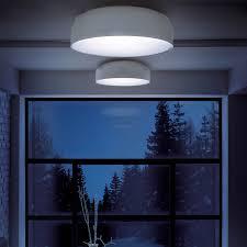 Contemporary ceiling light / round / metal / acrylic - MAI - LUCENTE