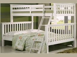 Bunk Beds Double And Single White Double Bunk Beds 3Ft Over 4Ft 6 Double  Chiltern Bunk