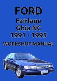 ford fairlane nc series workshop manual 1991 1995