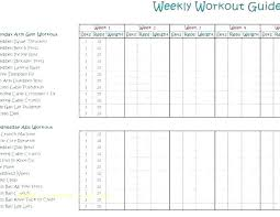 free workout log the best free workout log template to track your workouts