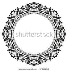 Circle Border Stock Royalty Free & Vectors