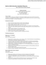 Resume Objective Examples Administrative Assistant Examples Of Resumes