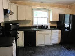 ultra modern kitchen with sleek black appliances and cabinets with amazing modern kitchen with black appliances stunning ideas