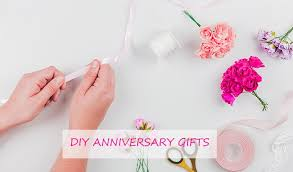 diy anniversary gifts to celebrate