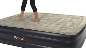 king size air mattress. AirMattress.com - Fox Airbed Best Guest King Air Mattress With Built-In Pump And Remote Video YouTube Size M
