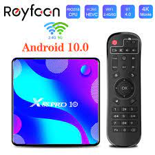 TV Box Android 10 X88 PRO 10 4G 64GB 32GB Rockchip RK3318 1080p 4K 5G Wifi  Support Google Play Store Youtube Set Top Box Media p Set-top Boxes