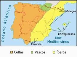 Resultado de imagen de península iberica en la edad antigua civilizaciones