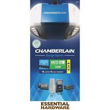chamberlain ultra quiet strong belt drive garage door opener with med lifting power b510