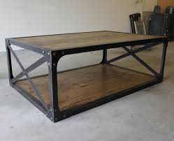 Industrial Looking Coffee Tables Table Industrial Looking Coffee Table