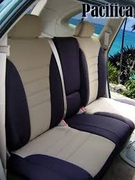 chrysler pacifica standard color seat covers rear seats