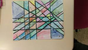 this is what we did for our linear art project we used linear equations on the link below to do this