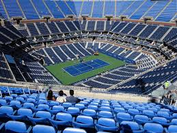 Us Open Arthur Ashe Seating Chart Arthur Ashe Stadium View From Promenade 307 Vivid Seats