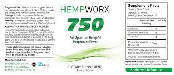 Hempworx Dosage Chart How Much Thc Is In Hempworx Cbd Oil