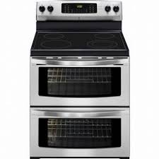 kenmore elite double oven. kenmore 97613 7.2 cu. ft. double-oven electric range - stainless steel elite double oven f