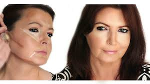 contouring and highlighting face shape
