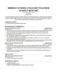 Cover Letter Resume Objective For Teaching Position Resume