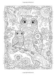 Adult Coloring Owl Adult Coloring Pages Owls Colouring For Amusing