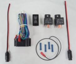 linear actuator wiring kit rocker switch amp 2 relays wire this is a brand new linear actuator wiring kit it includes all the necessary wiring the plug in connectors for linear actuators a two way rocker switch
