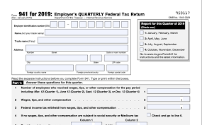 If you have applied for an unemployment account number but have not yet received notification of the number: What Is Irs Form 941