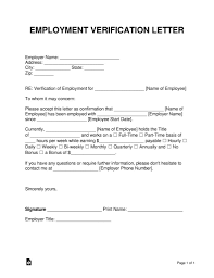 Confirmation Of Employment Letter Letter Confirming Employment Free Letter Of Employment