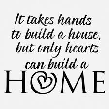 My Dream House Quotes Best of Die Cuts With A View It Takes Hands To Build Vinyl Quote Shopko
