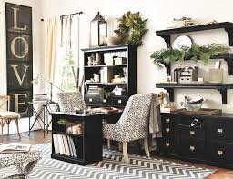 designing home office. COURTESY Two People Share This Desk, But Each Has Separate Drawers And  Shelves. Designing Home Office