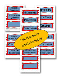 Science Fair Project Labels Printable 14 Science Fair Labels Templates Printable Science Fair