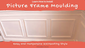 wainscoting dining room diy. #Howto #wainscoting #DIY Wainscoting Dining Room Diy L