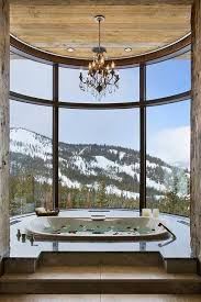 Bathroom With Hot Tub Interior Unique Design
