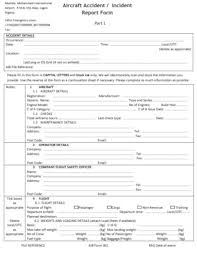 Free 15 General Incident Report Examples Templates