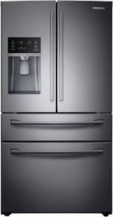 Samsung RF28HMEDBSG 36 Inch 4-Door French Door Refrigerator with  Spillproof Shelves, Twin Cooling Plus, FlexZone Drawer, EZ-Open Handle,  ...