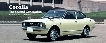 Toyota Global Site | Corolla | The Second Generation_01