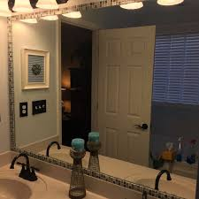 How to Frame a Bathroom Mirror With Mosaic Tile