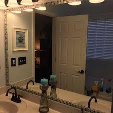 bathroom mirror frame tile. How To Frame A Bathroom Mirror With Mosaic Tile, Ideas, Tile Hometalk